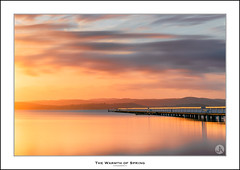 The Warmth of Spring (John_Armytage) Tags: longjetty centralcoast sunset landscape jetty nsw australia nisifiltersaustralia sonya7r2 johnarmytage canon70300 foc