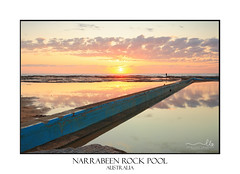 Narrabeen Pool (sugarbellaleah) Tags: sunrise morning sun pool rockpool rocks clouds sunight northernbeaches narrabeen reflections water beautiful nature environment landscape scenic travel tourism pretty stunning