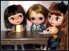 Blythe-a-Day September#2: At Home: Scout, Juliette & Alyosha
