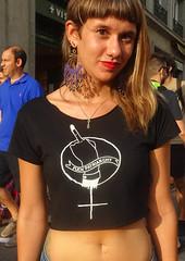 Mani Antitaurina - SOCIAL (Fotos de Camisetas de SANTI OCHOA) Tags: peineta feminismo