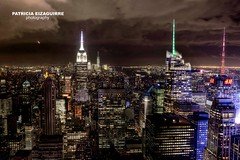 New York from Rockefeler Center (Patricia Eizaguirre photography) Tags: pateizaguirre patriciaeizaguirre topostherock rockefelercenter nyc newyork nuevayork