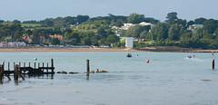 Bembridge Harbour Entrance (sunnyisle) Tags: bembridge harbour entrance sea sthelens