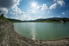 In the Mud (Zano91) Tags: clouds sky grass panorama contrast rain nikon d7100 trees tree foreground background outdoor art mountain mountains mount penice colorful vibrant cloud meteo landscape 8mm samyang mood moody weather foothill hill mountainside lake water distorted fisheye curves sun