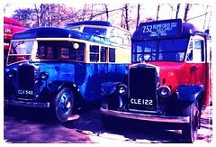 C94 & C111 Cobham bus museum (Ledlon89) Tags: bus london cub transport lt leyland londonbus interstation alltypesoftransport