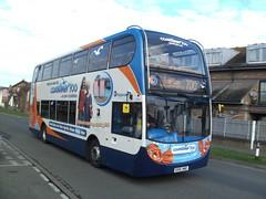 15590, Bognor Regis, 12/04/12 (aecregent) Tags: 700 stagecoach scania bognorregis 15590 enviro400 120412 n230ud coastliner700 gx10hao