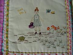 (União de Retalhos por  Adriana Nalin) Tags: book quilt embroidery patchwork bordados bordado amostras livrodetecido apliques tissuebook