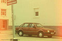 1985 Ford Escort Laser MKIV