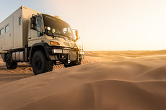 Approaching the desert (seen in Explore, thank you) (Giovanni Gori) Tags: longexposure travel camp italy holiday lightpainting night race truck stars landscape geotagged photography star mercedes nikon holidays photographer desert offroad 4x4 tunisia dunes tunis extreme run racing adventure bologna tunisie unimog fotografo d800 libia kebili rallie giovannigori nikkor1635mmf4gvr vialattes dunekebilitunisia