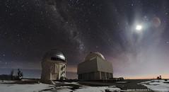 CTIO Cerro Tololo (Hernn Stockebrand) Tags: chile night noche astronomy astronomia milkyway observatorio astronomico ctio tololo