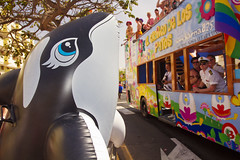 Maspalomas Gay Pride 2012 (Alex Bramwell) Tags: carnival gay grancanaria toy surreal parade inflatable killer whale gaypride float 2012 maspalomas playadelingles avenidatirajana