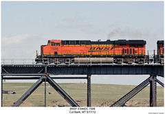 BNSF ES44DC 7588 (Robert W. Thomson) Tags: railroad train montana diesel railway trains locomotive trainengine ge bnsf burlingtonnorthernsantafe cutbank es44dc gevo es44 evolutionseries sixaxle