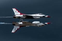 Reflection Pass (benkuhns) Tags: aircraft jets hill performance airshow f16 planes f22 thunderbirds redbull mig 2012 p51 hillafb hillairforcebase hafb fj4 benkuhns warriorsoverwasatch2012