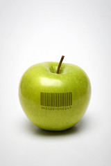 Code green (Paul O' Connell) Tags: food white color green apple nature closeup fruit digital canon garden lunch photography juicy healthy close natural bright sweet juice vibrant object lifestyle fresh scan sharp delicious health mature snack vegetarian barcode data geneticengineering tasting concept diet grannysmith pure refreshing healthcare shinny isolated applecore freshness nutrition nutritious purity vitamin scanners symbology ripened anappleaday matrixcode geneticallymodifiedfoods pauloconnell barcodereader greencode theforbiddenfruit gmfood universalproductcode codegreen organicandgmofreeworld biotechfoods ecologicalconcerns datastripcode