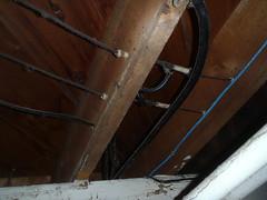 knob and tube (jasonwoodhead23) Tags: dangerous wiring tube knob obsolete