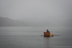 Quick & Daring (Arianne LS) Tags: people water rain june fog digital boat spring nikon britishcolumbia challenge plywood princerupert 2880mm nikond90 seafest2012