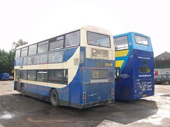 H152 GGS - X322 NNO (markkirk85) Tags: new travel ex district alexander dennis northern stagecoach leyland bts trident huntingdon olympian ggs borehamwood nno 11991 22001 alx400 selkent x322 counites brylaine h152ggs ta322 h152 x322nno