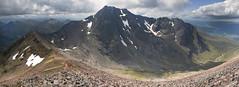 Ben Nevis from Carn Mor Dearg (Nick Landells) Tags: mountain mountains scotland scottish bennevis fortwilliam carnmordearg carndearg cmdarete carnmordeargarete coireleis