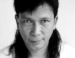 Anuar Rashid (Buldrock) Tags: portrait art colors asia painter malaysian colori tela pittore anuarrashid
