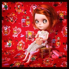Blythe-a-Day June: 23/30 Craft