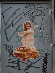 Last (Tian (Chris a.k.a)) Tags: street urban woman streetart paris france pasteup art collage painting paper poster model stencil europe paint acrylic wheatpaste tian spray peinture painter aerosol rue papier lemans bombe affiche urbain menilmontant pochoir 20e ian