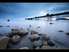Sleepless (*Explored*) (A-D-Jones) Tags: ocean blue sea sun seascape beach water misty wales landscape bay pier rocks long exposure north nd rise llandudno