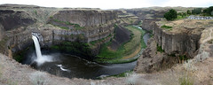 Palouse Falls (david drexler) Tags: panorama usa river waterfall washington unitedstates canyon falls starbuck palouse desktopbg
