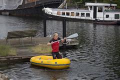 Action front 4/11 (MaikenVL) Tags: training boat holmen hjemmevrnet hjv danishhomeguard
