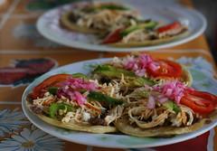 Tulum, Mexico (Kelly Harmon / K E L L Y) Tags: food chicken mexico cuisine tacos yucatan tulum mexican hip rivieramaya mayanriviera traveler hiptraveler
