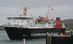 The LOTI arriving at Lochboisdale (Hugh Spicer / UIsdean Spicer) Tags: uk summer ferry scotland july westernisles calmac uist 2012 southuist outerhebrides loti lochboisdale howmore tobhamor uibhistadeas mvlordoftheisles july2012