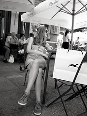 Languid (Fernando_PC) Tags: street woman portugal flickr seat front braga 500px