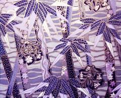 P7140293 - Japanese hand-made paper (tengds) Tags: gray lavender bamboo japanesepaper washi handmadepaper chiyogami yuzenwashi tengds