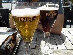 Petrus (Gebba1) Tags: sun beer soleil bier oostende birra zon petrus terras bire terrasje mysterywalk2012