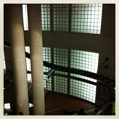 Paris, station Madeleine (berardici) Tags: paris france station stairs underground subway escalator tube ubahn 100 transports madeleine escalier 050 iphone4 metro hipstamatic madeleinemetro cadreblanc janelens inas1982film objectifjane filminas1982 janeinas1982 puitmadeleine