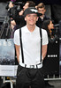George Sampson The European Premiere of 'The Dark Knight Rises' held at the Odeon West End - Arrivals. London, England