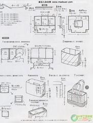 Grafico Bolsa (Nena Matos) Tags: bolsa desenho molde grafico borse tecidos stoffa