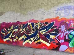 Mast (soulroach) Tags: nyc ny graffiti bronx mast tge imok