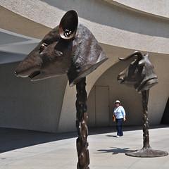 Animal Heads (Mondmann) Tags: usa art museum america washingtondc unitedstates hirshhorn sculptures aiweiwei nikond90 mondmann flickrnova circleofanimalszodiacheads
