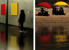 Déjà vu (Selenia Di Bella) Tags: madrid mare scala museo ombrelloni vu dei turchi déjà
