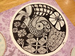Zendala 3 (laketram) Tags: zentangle