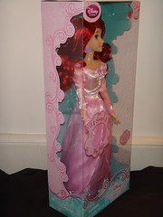 2012 Disney Store Singing Princess Dolls - Ariel Boxed - Full Left Front View (drj1828) Tags: ariel store dolls singing princess disney boxed 2012