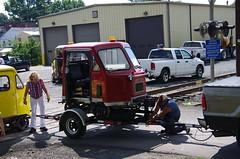 IMGP6468 (geepstir) Tags: car reading pennsylvania rail pa shamokin speeder sunbury narcoa