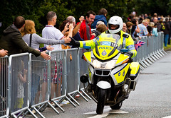 I thought they were supposed to peddle (Surrey Dave) Tags: cycling police olympics roadrace fuzz brooklands weybride onyerbike werenotheretoseeyou