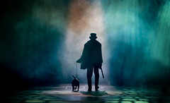 Oliver, Curve Theatre (Pamela Raith) Tags: lighting london play oliver theatre song stage leicester musical sing sound acting bullseye actor theatrical billsykes culturalquarter curvetheatre pamelaraithphotography