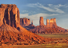 Morning In The Valley (Aspenbreeze) Tags: nature landscape utah spires sony monumentvalley rockformations arizonia thegalaxy monumentvalleyutah impressedbeauty dslra900 bestcapturesaoi redrockspires aspenbreeze rememberthatmomentlevel1 rememberthatmomentlevel2 rememberthatmomentlevel3 tpslandscape monumentvalleyarizonia topphotoshots