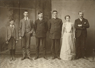 Photograph of Howland family