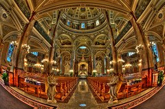 The Basilica (k gokul) Tags: architecture basilica fisheye milwaukee hdr