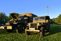 On a mission. (Papa Razzi1) Tags: summer truck jeep july willys 2016 sundby carmeet 7519 202365 carwednesdays2016