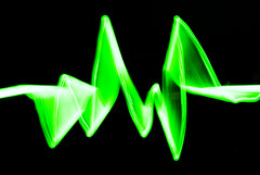 Amplify (Ben Bishop.) Tags: lightpaint lightroom photoshop photo shop light paint wand lightwand pixelstick pixelwand painter painting lightpainting pightpainter lightpainter green amplify music sound beat rythmn heartbeat heart black blackgreen greenblack colour long exposure longexposure shutter creative