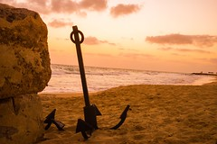 Lost & Found (Hazem Hafez) Tags: beach sunrise mediterranean exotic anchor egypy northcoast