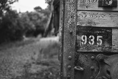 Lost trains (Strange Artifact) Tags: sony a7r black white schwarz weiss zwart wit bw trains gare lost abandoned decay fe 55mm f18 za